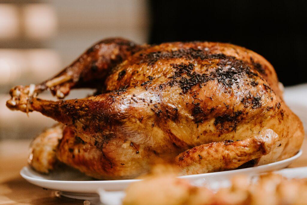 roasted chicken in air fryer rotisserie